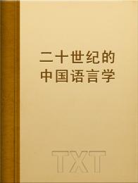 二十世纪的中国语言学小说全本阅读