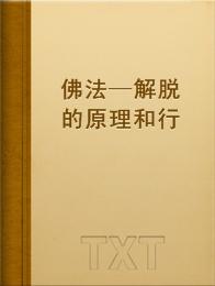 佛法—解脱的原理和行法小说全本阅读