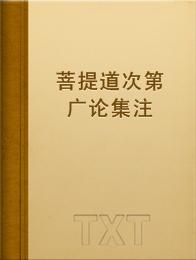菩提道次第廣論集注小說全本閱讀